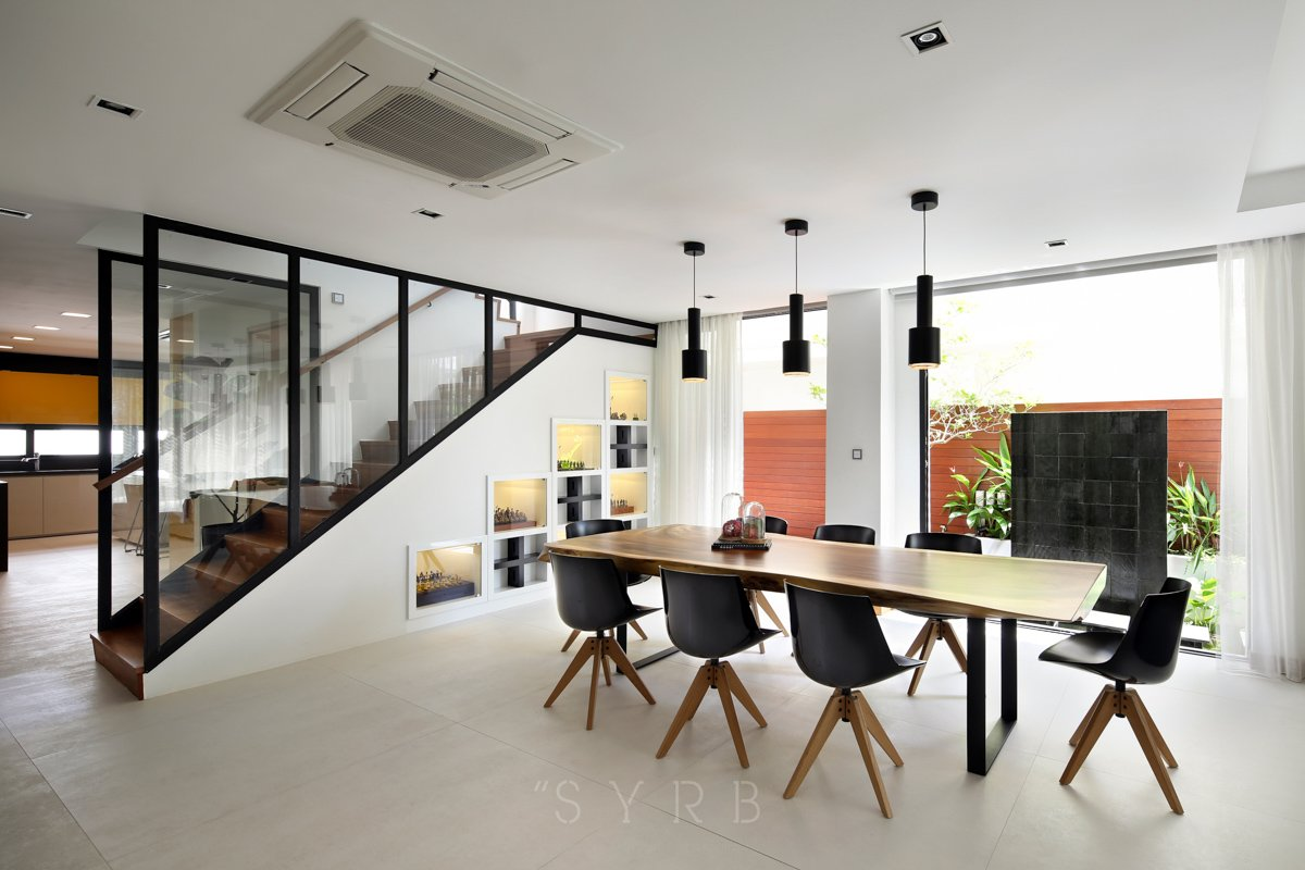 Semi detached at jalan tarum i best interior design for Top interior designers in singapore